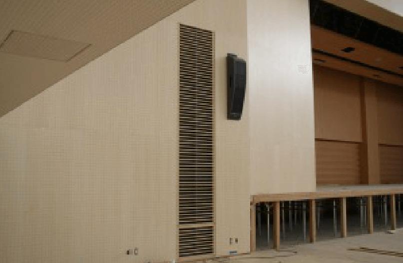 神奈川県の私立大学の体育館の施工事例1