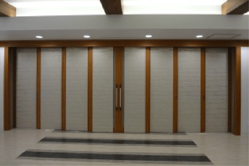 神奈川県横浜市の斎場での施工事例1