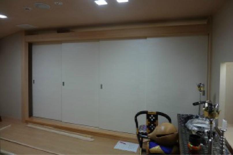 神奈川県横浜市の斎場での施工事例6